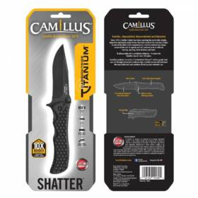 "CAMILLUS SHATTER 8"" Folding Knife"