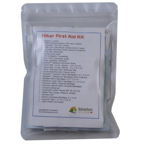 HIKER First Aid Kit, Ultralight, Waterproof