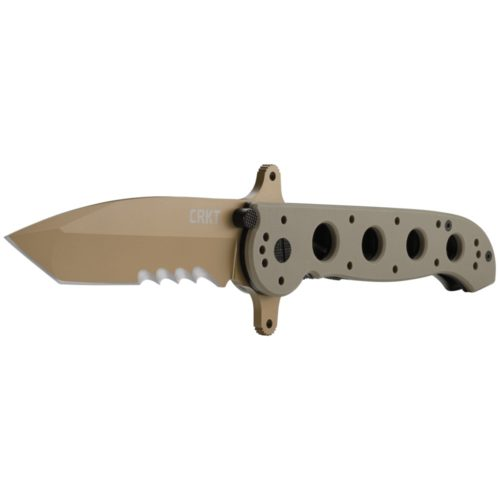 M16-14DSFG Special Forces Desert Tanto w/Veff Serrations