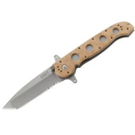 CRKT M16-14ZSF SPECIAL FORCES DESERT TANTO WITH TRIPLE POINT SERRATIONS