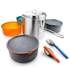 Glacier Stainless Dualist Cookset