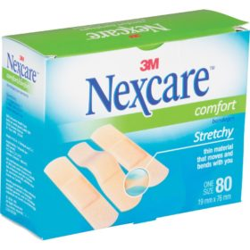 Nexcare™ Comfort Bandages, CS102, 80/Pack