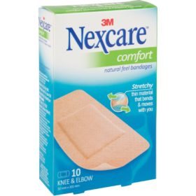 Nexcare™ Comfort Bandages, Knee and Elbow