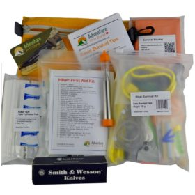 Hiker HYBRID Emergency Kit, IFAK + ISK, Ultralight