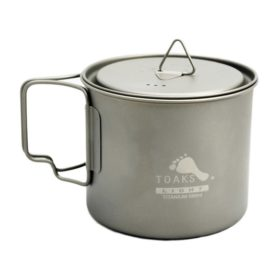 LIGHT Titanium Pot 550 ml, POT-550-L