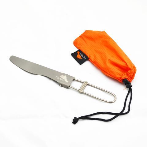 TOAKS Titanium Folding Knife SLV-08