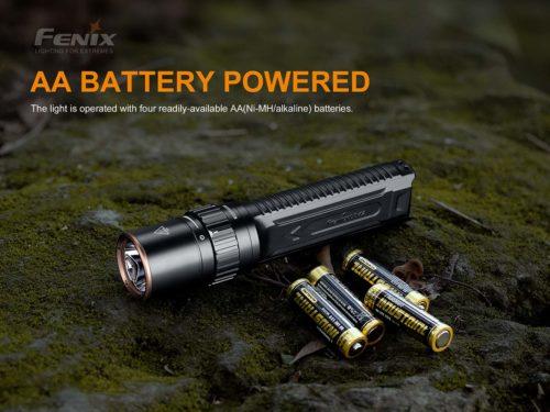 Fenix LD42 Flashlight, AA, 1000 lumens