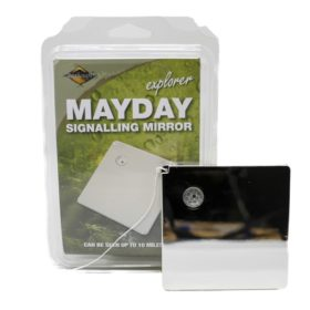 Bushcraft™ Mayday Signalling Mirror, Heliograph CK314