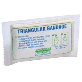 Triangular Bandage, Compressed, Vacuum-packed