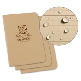 All-Weather Stapled Mini Notebook 971TFX-M