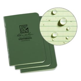 All-Weather Stapled Mini Notebook 971FX-M