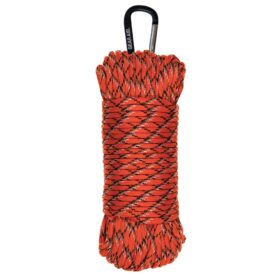 550 Paracord Utility Line, Reflective Orange