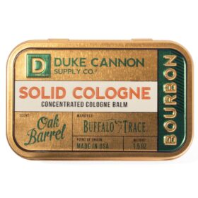 Duke Cannon Solid Cologne - Bourbon